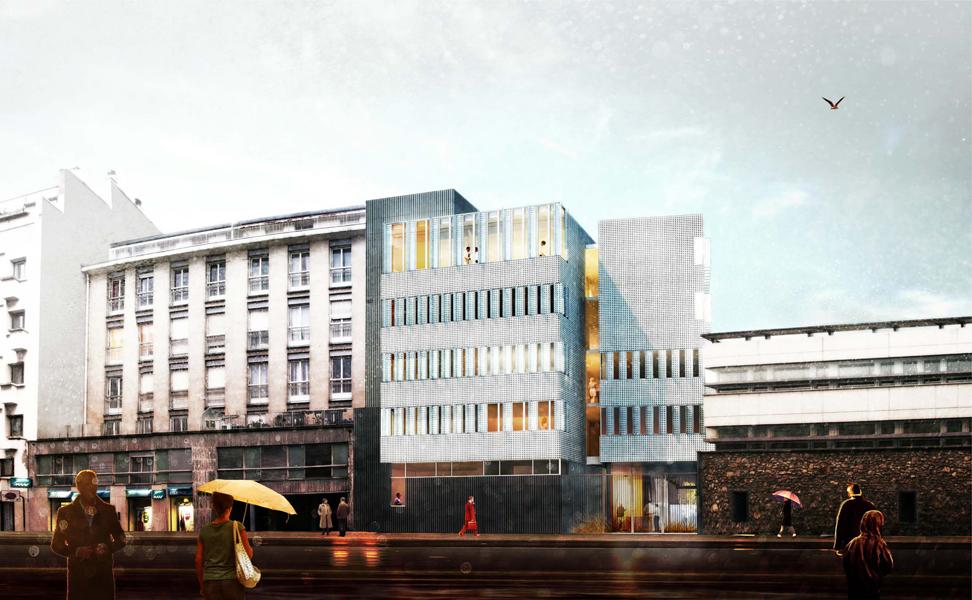 Si ge de la ddpp atelier bruno huerre architectes for Assistant d architecte